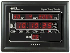 AJANTA OLC 103 DIGITAL MULTI FUNCTION WALL CLOCK