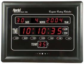 Ajanta Oreva Plastic Digital Wall clock ( Set of 1 )