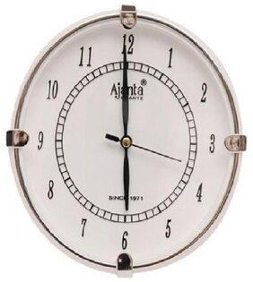 Ajanta White Wall clock