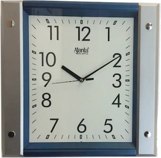 Ajanta Plastic Analog Wall clock ( Set of 1 )
