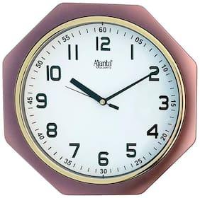 Ajanta Brown Wall clock