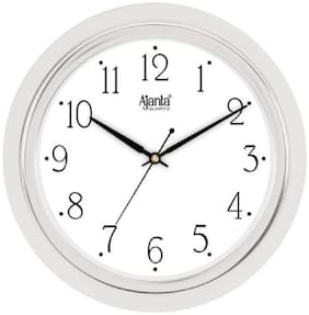 Ajanta White Wall Clock