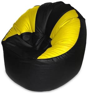 Akhilesh Bean Bags & Furnitures leatherette Bean Bag Cover  XXXL ( Beans Needs to buy separate )