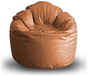 Akhilesh Bean Bags & Furnitures leatherette Bean Bag Cover  XXL ( Beans Needs to buy separate )