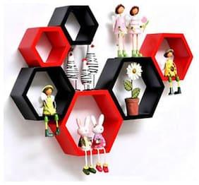 all crafts art exacorner 6 wall shelf