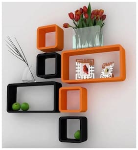 all crafts art sqaire 6 wall shelf