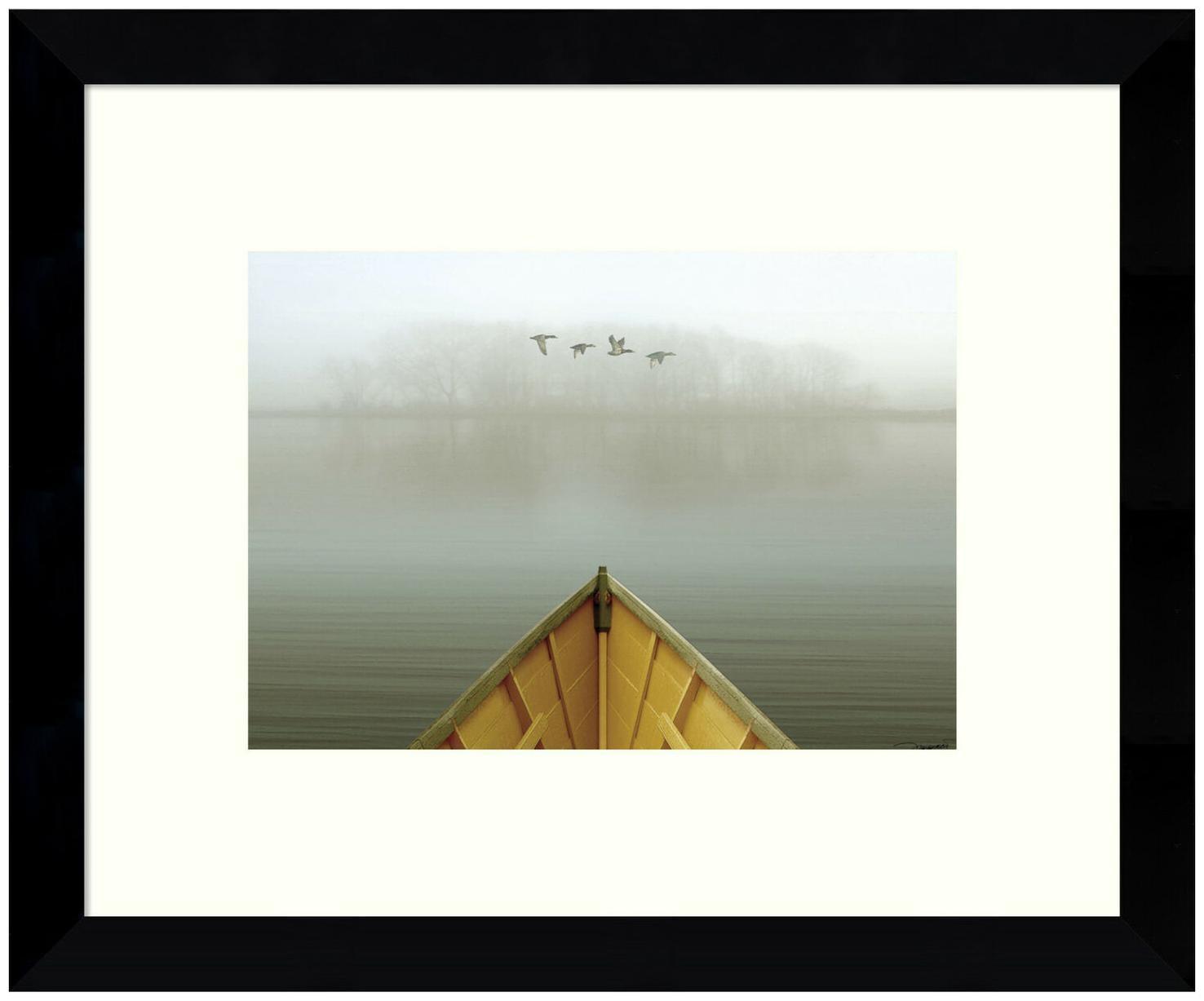Amanti Art DSW3422398 8 7/8 Inch x 10 7/8 Inch  Alone in the Mist