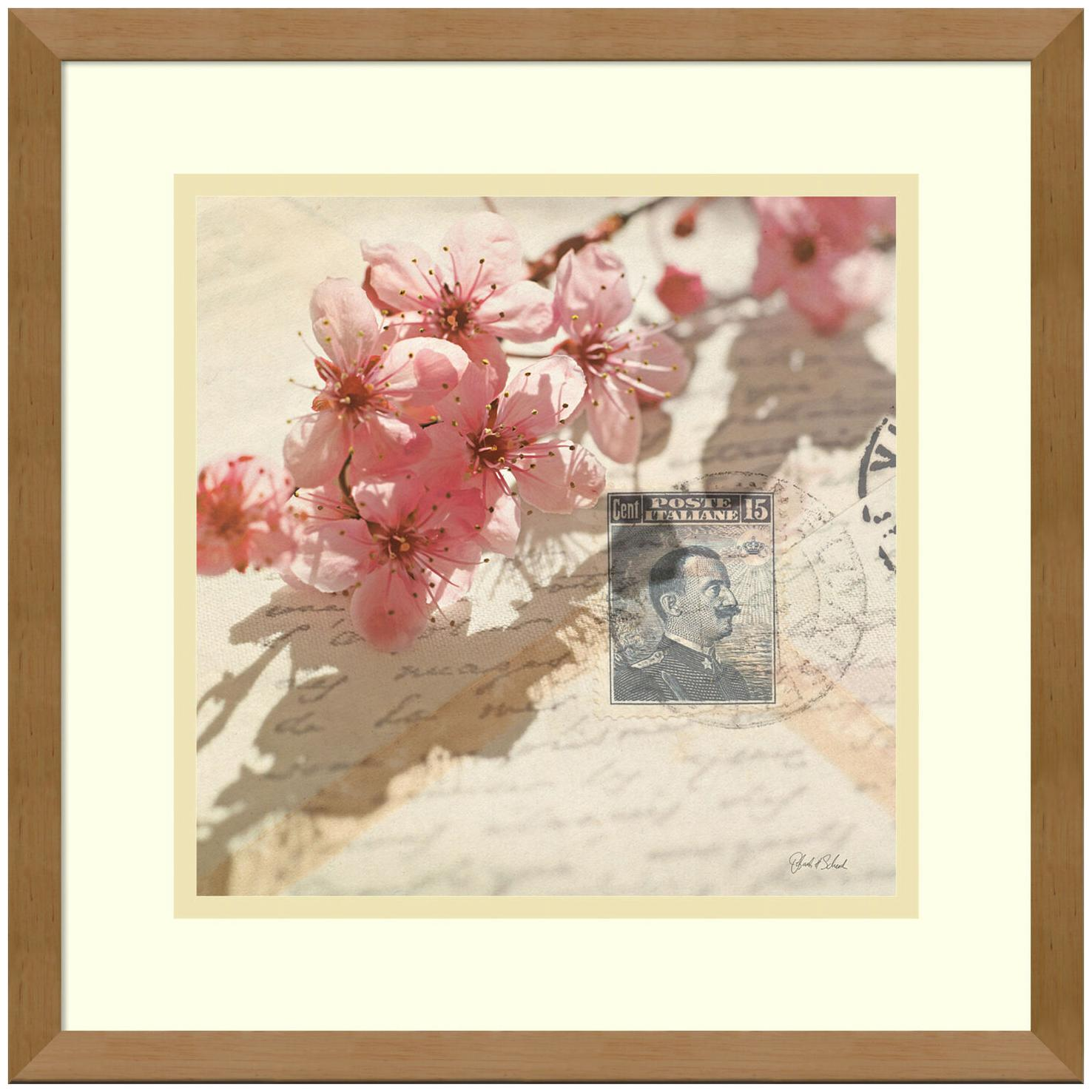 Amanti Art DSW981524 15 Inch x 15 Inch  Vintage Letters and