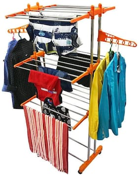 SHP Stainless Steel Cloth Dryer ( 1 Set Of Cloth Drying Stand )