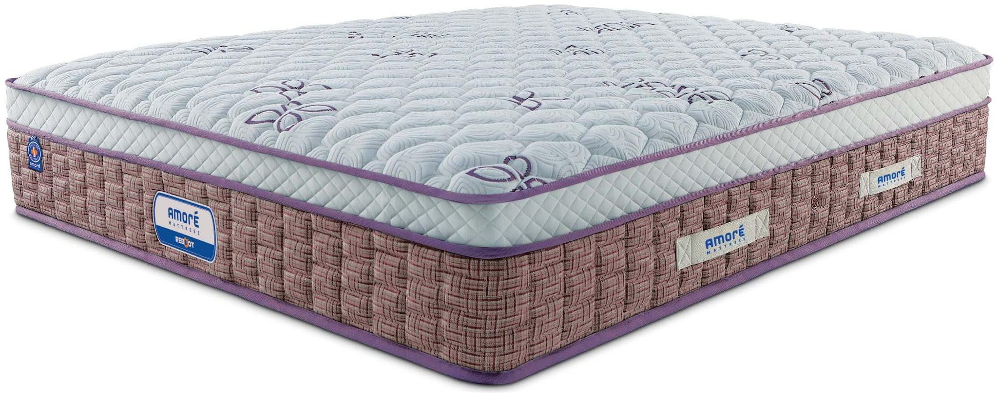 AMORE INTERNATIONAL 6 inch Pocket Spring Queen Size Mattress by Amore International