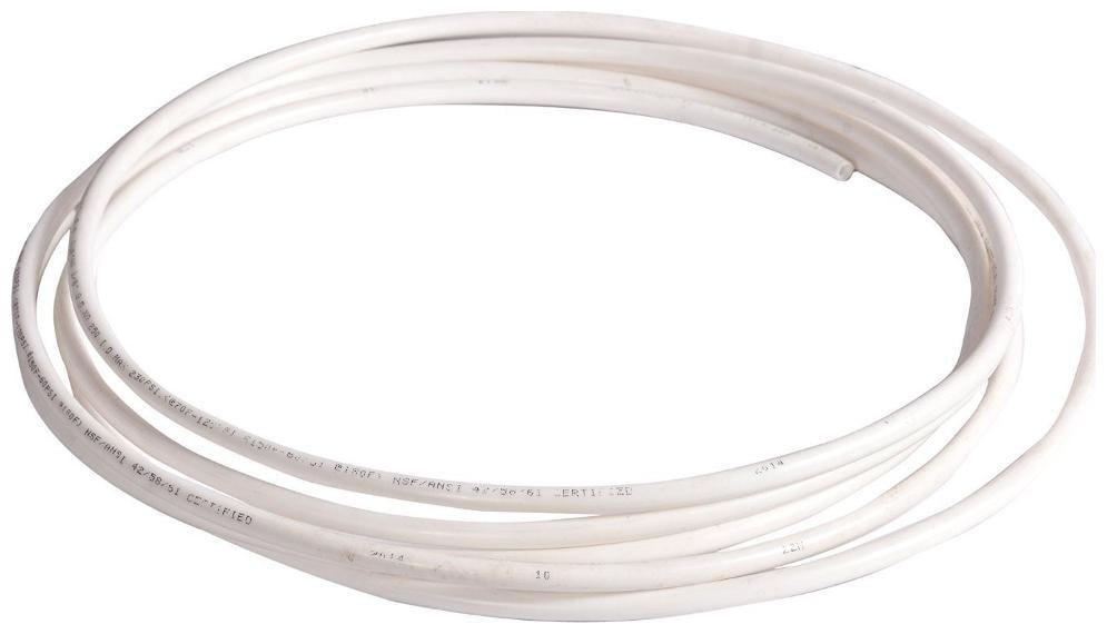 RO Flexible Food Grade Pipe/Tube 1/4  White  10 m. for RO UV Water Purifier
