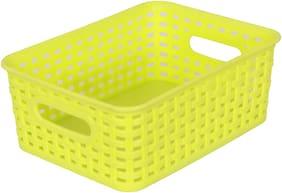 Amson Small Basket Green Elegant