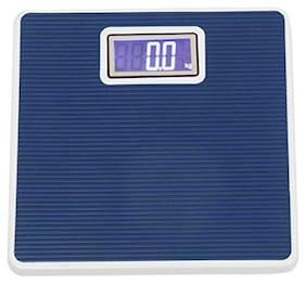 AmtiQ Iron Body Blue 145Kg High Quality Bathroom Personal Weighing Scale/Machine