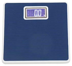 AmtiQ Iron Body Blue 125Kg Maintain Fitness(Weight Measurement) Weighing Scale/Machine