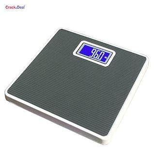 AmtiQ Iron Body Grey 105Kg Electronic DigitalWeighing Scale/Machine
