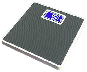 AmtiQ Premium Digital Iron Body 125kg Grey Square Weighing Scale