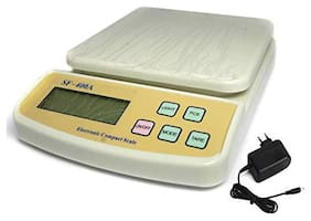 AmtiQ SF 400A with Adapter New Digital Electronic Food Kitchen 5kg Weighing Scale/Machine