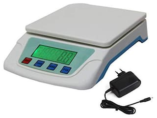AmtiQ SF TS200V with Adapter Durable Ultra Light Ruler Kitchen 4kg Weighing Scale/Machine