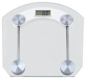 AmtiQ Square Glass 150Kg Multipurpose(Bathroom/Hospital/Home)150kgWeighing Scale/Machine