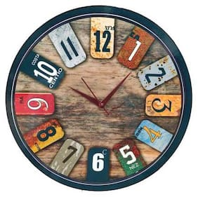 Shiva Arts Wood Analog Wall clock ( Set of 1 )