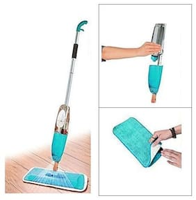 Andride Multifunctional Microfiber Floor Cleaning Healthy Spray Mop with Removable Washable Cleaning Pad and Integrated Water Spray Mechanism (Multicolour)