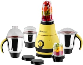 Anjalimix DIESIGNO 750 W Centrifugal Juicer ( Yellow , 5 Jars )