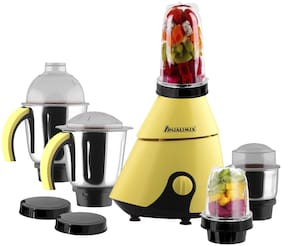 Anjalimix INSTA 1000 W Centrifugal Juicer ( Yellow , 5 Jars )