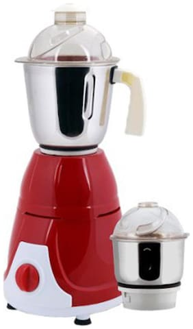 Anjalimix PRIME DUO 600 W Mixer Grinder ( Red , 2 Jars )