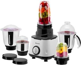 Anjalimix SMOOTHIE MAKER 600 W Mixer Grinder ( Black , 5 Jars )