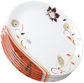 ANTC DINNER PLATE SET OF 6 PLATE SIZE 10IN