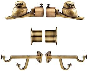 CASAGOLD Brass Curtain bracket ( Set of 6 )