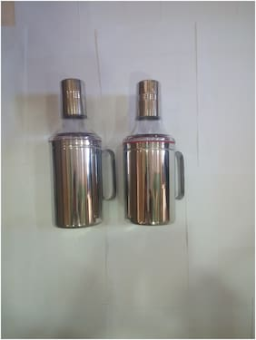 APEIRON 750 ml Stainless steel Oil & Vinegar Dispensers - Set of 2