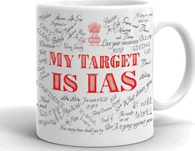 Aqsi Ceramic Coffee Mug My Target Is Ias