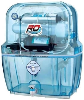 Aqua Fresh SWIFT TRANSPRENT model 12 L RO + UV + UF + TDS  purify Mineral Water Purifier