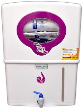 Aqua Ultra Max RO+11W UV(OSRAM, Made In Italy) +B12+TDS Contoller Water Purifier