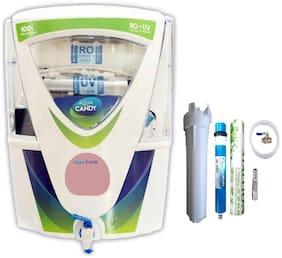 AquaFresh Candy green 15 Ltr RO + UV + UF + TDS Water Purifier