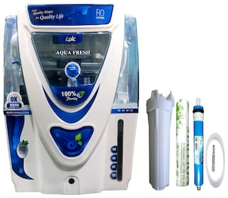 Aquafresh EPIC 15 ltr Water Purifier - Ro+uv+uf