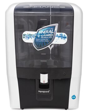 Aquaguard Enhance RO Water Purifier (Black & White)