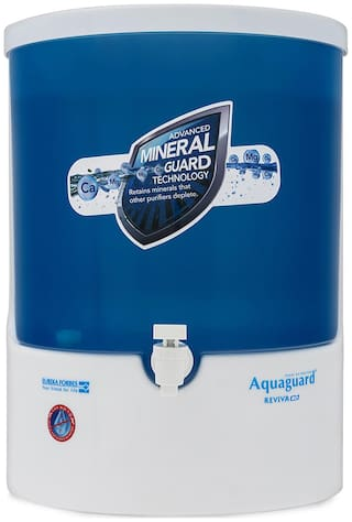 Aquaguard Reviva RO Water Purifier (White & Blue)