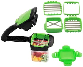 Aramedos Vegetable Chopper;5 In 1 Vegetable Cutter Chopper Slicer Quick Perfect For Kitchen