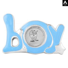 Archies Boy Table Stand Photo Frame ;Ceramic Material;Blue Colour