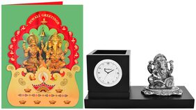 Archies Ganesha desk accessory and Greeting card pack of 2