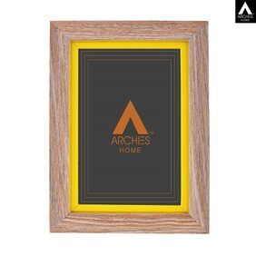 Archies Love Table Stand Photo Frame ;Wooden Material;Natural Wooden Colour