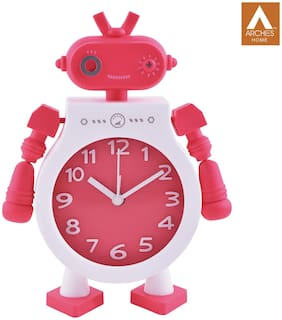 Archies Pink Table clock