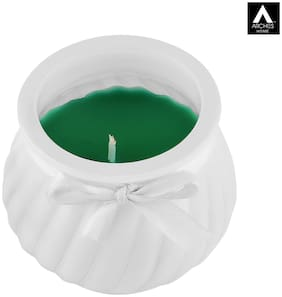 Archies Paraffin wax Green Scented candle