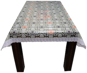 Ardour Homes Center Table Cover 4 Seater Transparent Printed 40x60