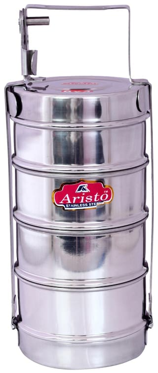 0961a628492 Buy Aristo Picnic Steel Lunch Box Online at Low Prices in India ...