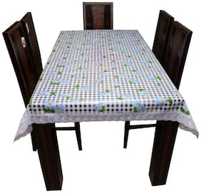 Art House Dining Table Cover 6 Seater Transparent Printed 54x78