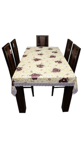 6e6306174b8 Buy Art House Dining Table Cover Printed 6 Seater 54x78 Online at ...