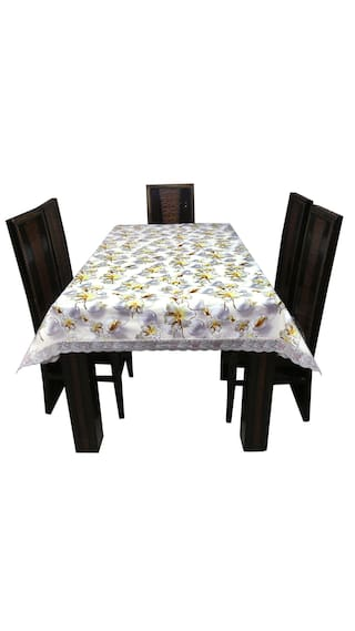 a6da13009 Buy Art House PVC High Grade Dining Table Cover 6 Seater (L  198.12 ...